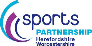 Sports Partnership Herefordshire & Worcestershire logo